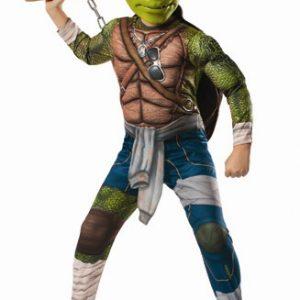 Kids Deluxe Ninja Turtles Michelangelo Costume
