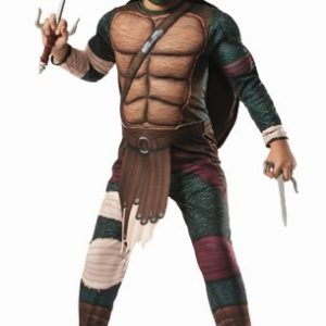 Kids Deluxe Ninja Turtles Raphael Costume