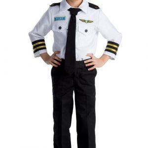 Kids Deluxe Pilot Costume