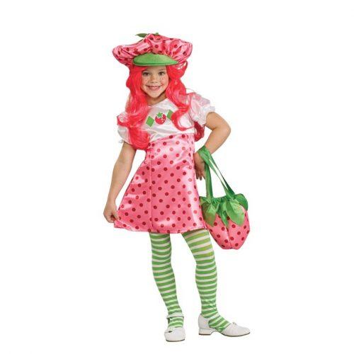 Kids Deluxe Strawberry Shortcake Costume