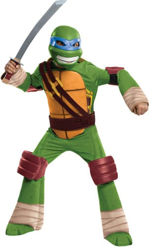 Kids Deluxe TMNT Leonardo Costume