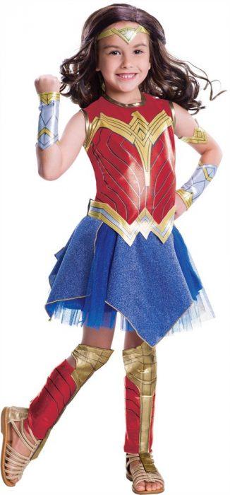 Kids Deluxe Wonder Woman Movie Costume
