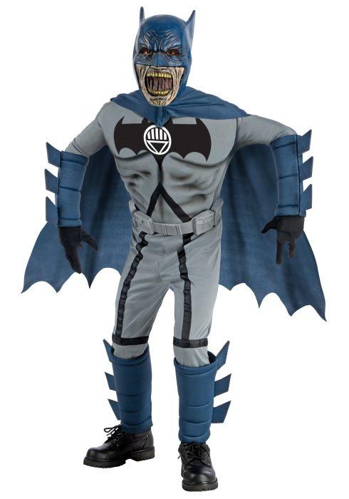 Kids Deluxe Zombie Batman Costume