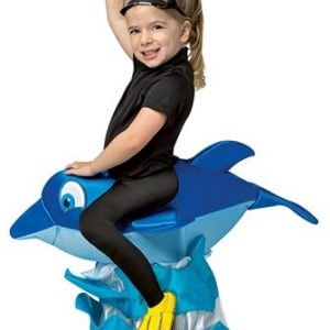 Kids Dolphin Rider Costume