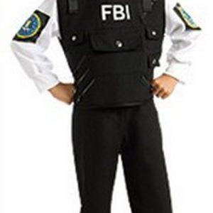 Kids FBI Costume - FBI Agent