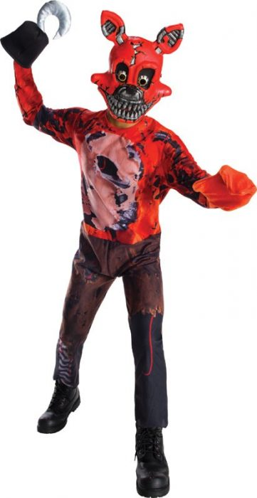 Kids FNAF Nightmare Foxy Costume