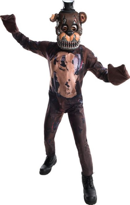 Kids FNAF Nightmare Freddy Costume