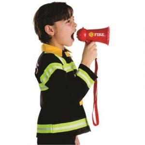 Kids Fire Fighter Megaphone