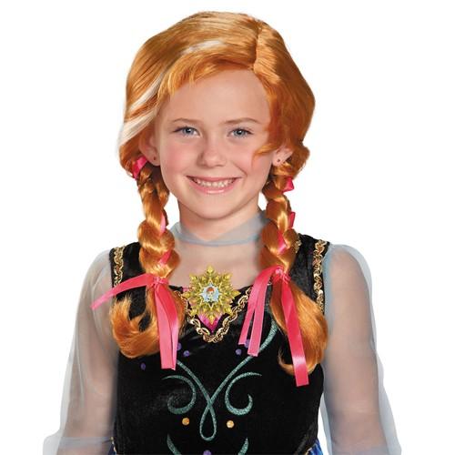 Kids Frozen Anna Wig