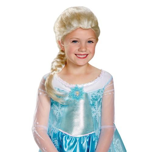 Kids Frozen Elsa Wig