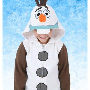 Kids Frozen I am Olaf Costume Hoodie