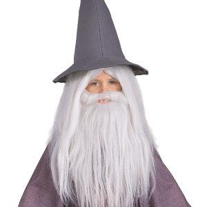 Kids Gandalf Beard and Wig Set