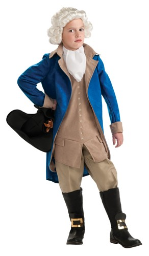 Kids George Washington Costume
