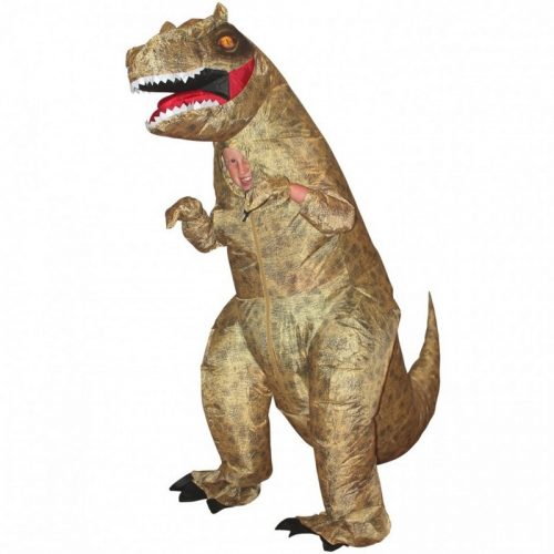 Kids Giant T-Rex Inflatable Costume