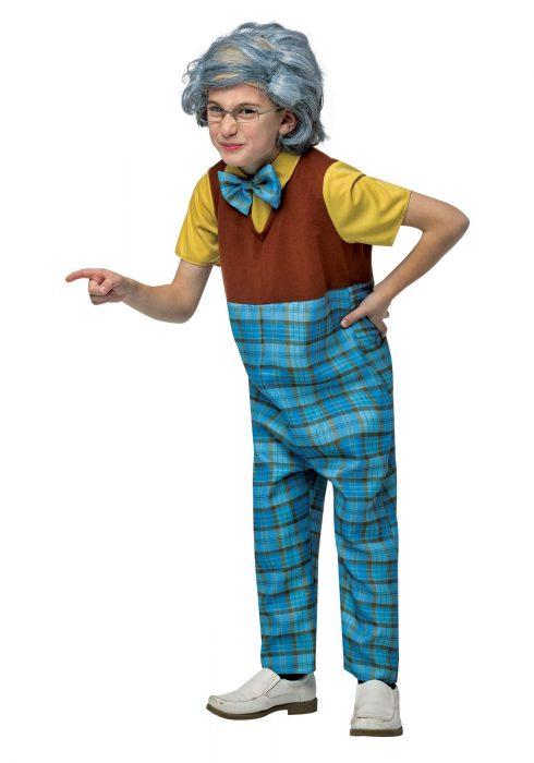 Kids Grandpa Costume
