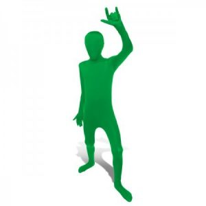 Kids Green Morphsuit