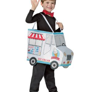 Kids Ice Cream Truck Costume 4-6X
