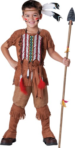 Kids Indian Costume - Brave Indian