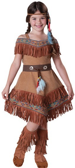 Kids Indian Costume - Indian Maiden