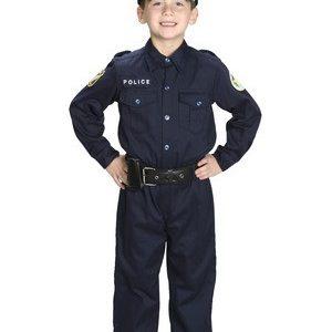 Kids Jr Police Officer Costume