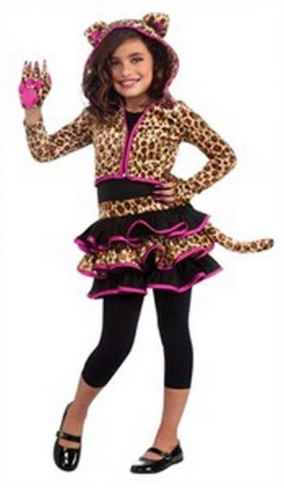 Kids Leopard Hoodie