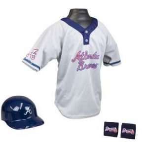 Kids MLB Uniform Set - Atlanta Braves