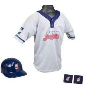 Kids MLB Uniform Set - Cleveland Indians