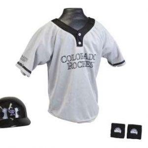 Kids MLB Uniform Set - Colorado Rockies