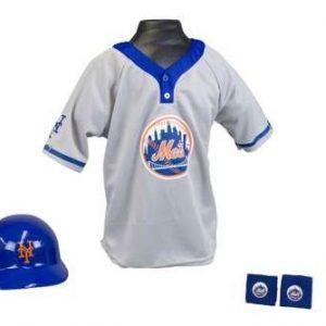 Kids MLB Uniform Set - New York Mets