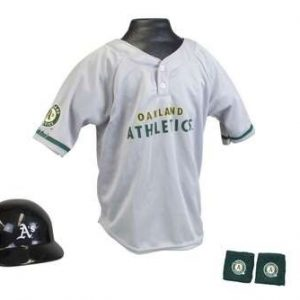 Kids MLB Uniform Set - Oakland Athletics