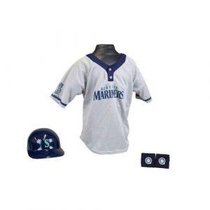 Kids MLB Uniform Set - Seattle Mariners