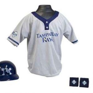 Kids MLB Uniform Set - Tampa Bay Rays