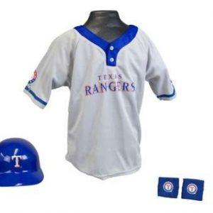 Kids MLB Uniform Set - Texas Rangers