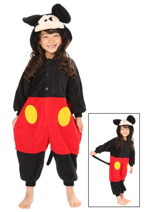 Kids Mickey Mouse Pajama Costume