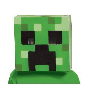 Kids Minecraft Creeper Vacuform Mask