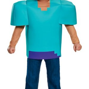 Kids Minecraft Steve Costume