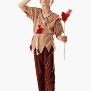 Kids Native American Brave Costume