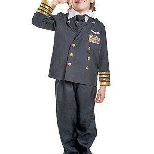 Kids Navy Admiral Costume