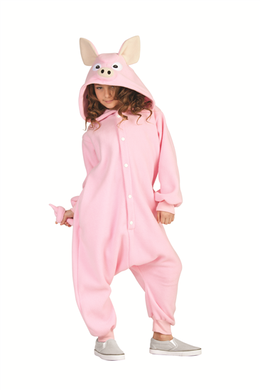 Kids Pig Funsies Costume