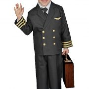Kids Pilot Costume with Jacket