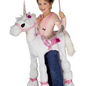 Kids Ride A Unicorn Costume
