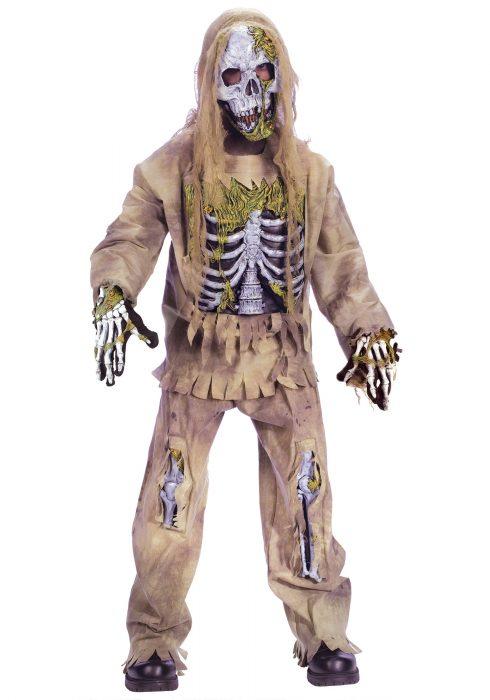 Kids Skeleton Zombie Costume