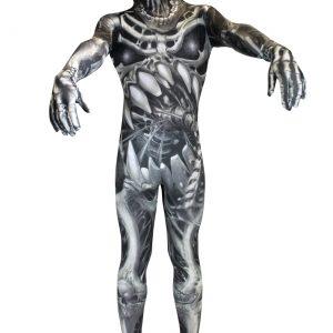 Kid's Skull and Bones Skeleton Morphsuit