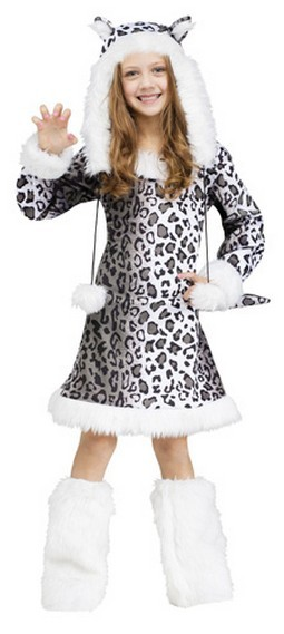 Kids Snow Leopard Costume