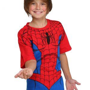 Kids Spider-Man Costume T-Shirt