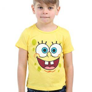 Kids Spongebob Squarepants Face Costume Shirt