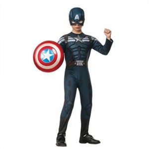 Kids Stealth Captain America Costume