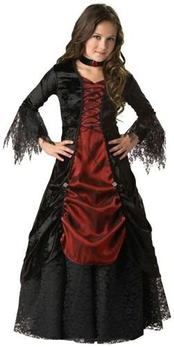 Kids Vampire Costume - Gothic Vampira