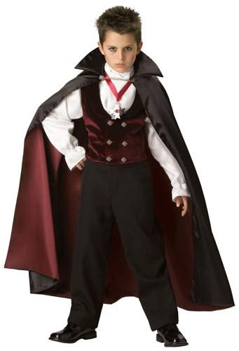 Kids Vampire Costume - Gothic Vampire