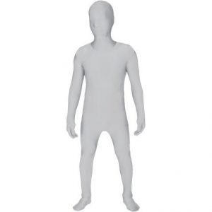 Kids White Morphsuit